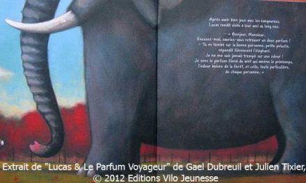 """Une nouvelle critique de mon livre pour enfant """"Lucas et le parfum voyageur"""""""