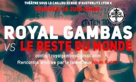 Match d'improvisation Royal Gambas contre le reste du monde