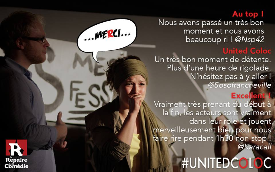United Coloc Critique spectateur