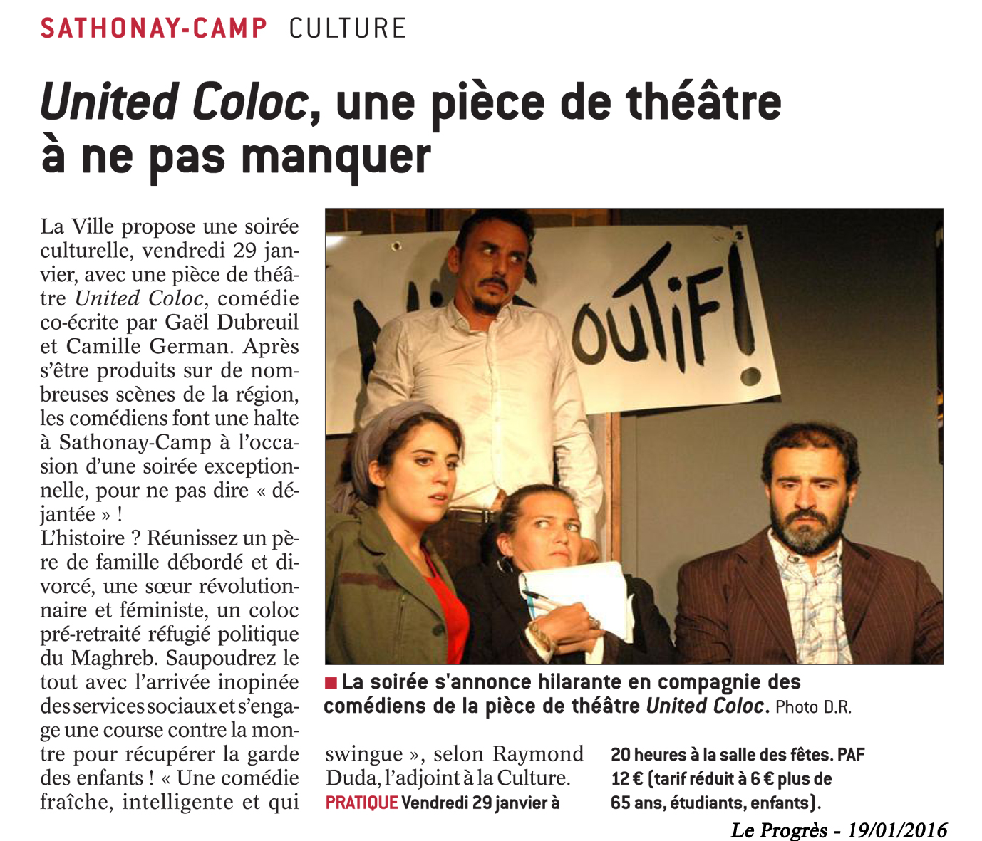 United coloc le progrès