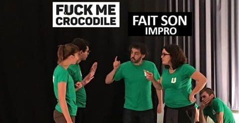 Match d'impro Fuck me crocodile Vs BIV