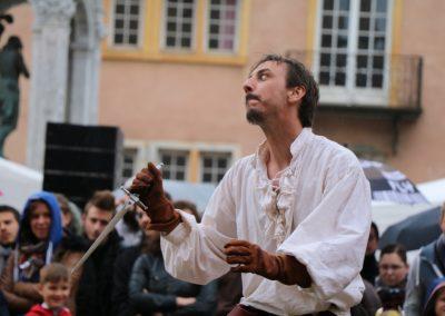 gael dubreuil escrime spectacle cie armes de Lyon
