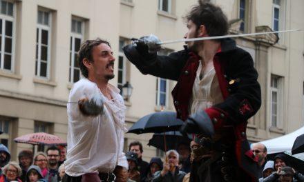 L'escrime artistique – Reportage France 3 à la Cie d'armes de Lyon