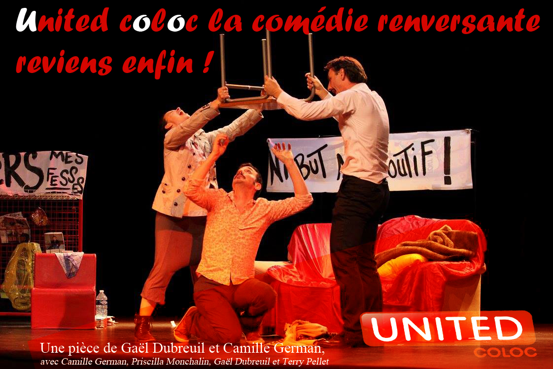 United Coloc reviens Camille German Gael Dubreuil Terry Pellet