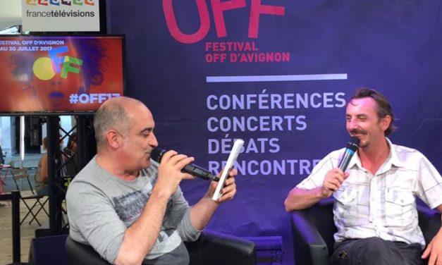 Interview au village du Off