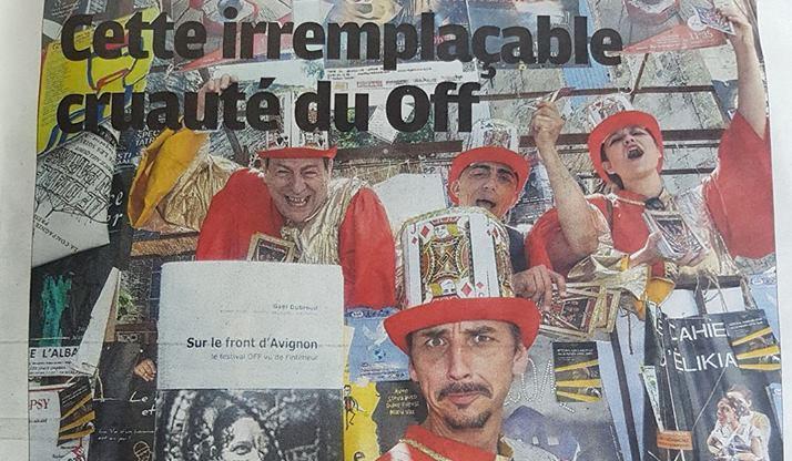 La Provence met à l'honneur sur le front d'Avignon
