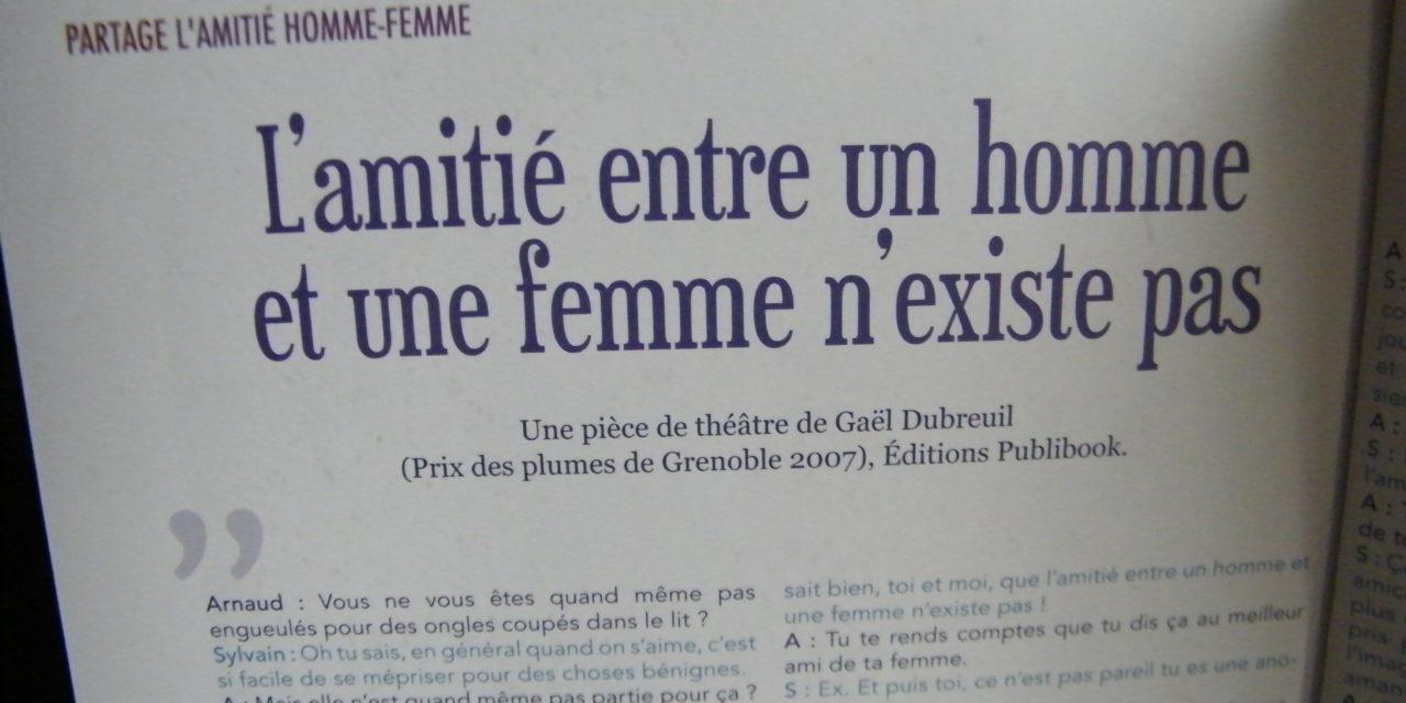 Un extrait de «l'amitié entre les hommes et les femmes n'existe pas» dans la revue rêve de femmes