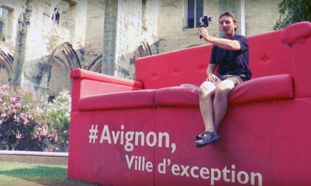 Interview boîte à culture Sur le front d'Avignon – jeux de l'amour et du pouvoir