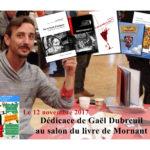 Dédicace au salon du livre de Mornant (69)