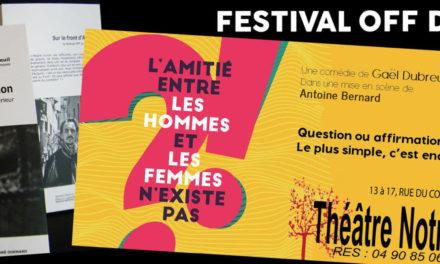 Festival Avignon 2019 : Une pièce, un livre