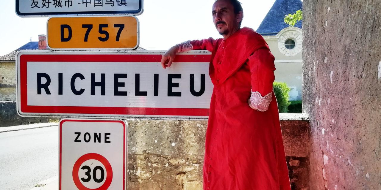 Le cardinal à Richelieu