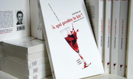 "Sortie de mon roman policier ""A qui profite le kir ?"""