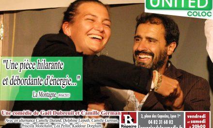 United Coloc – Une pièce hilarante et débordante d'énergie