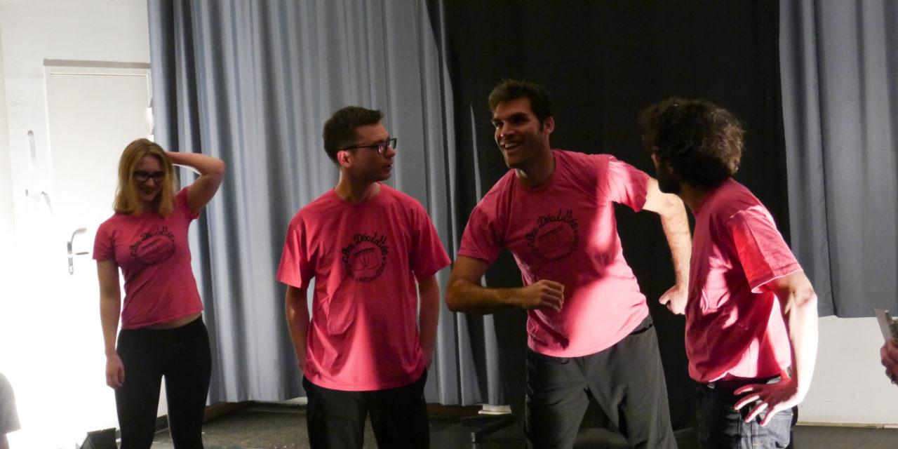 Match Improvisation Déculottés Vs Improfusion ce 17 avril 2015 à Arts en Scène
