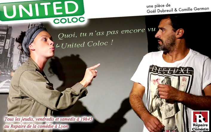 Quoi tu n'as pas encore vu United Coloc !