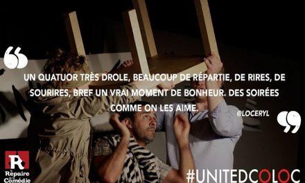 Avant dernière semaine pour voir United Coloc à Lyon cette saison