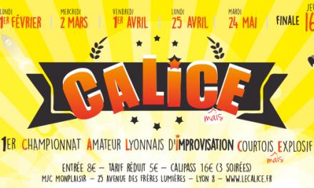 CALICE 2ème phase du championnat Lyonnais d'improvisation