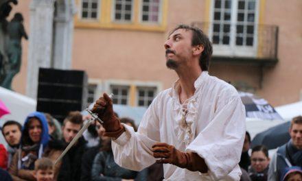 Fête renaissance à Lyon 2016 – Spectacle de cape et d'épée