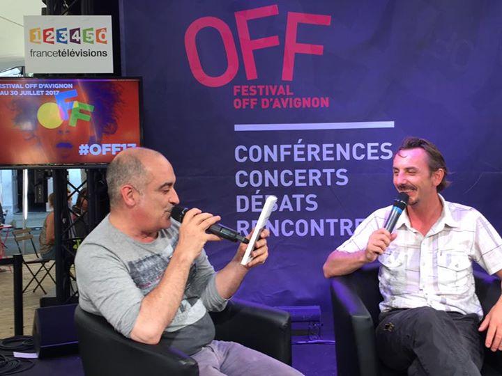 Interview au village du Off
