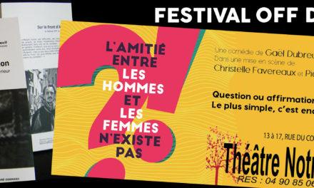 Festival Avignon 2018 : un livre, une pièce