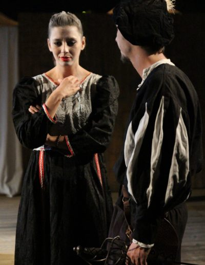 Shakespeare s Ghosts Cie Thespis Gael Dubreuil Juliette Paire photo luc Richardier