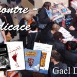 Dédicace au salon des Livres et vous à Miribel (01)